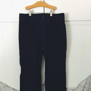 Anthropologie the essential cropped flare pants
